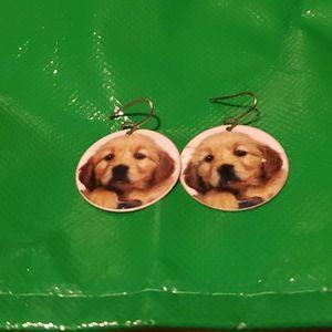 (3 for $10) Puppy Earrings